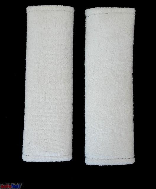 Άσπρη Πετσέτα Μαξιλαράκι ζώνης