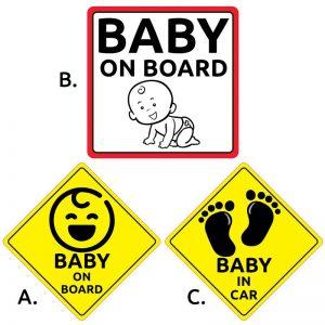 Μωρό στο αυτοκίνητο