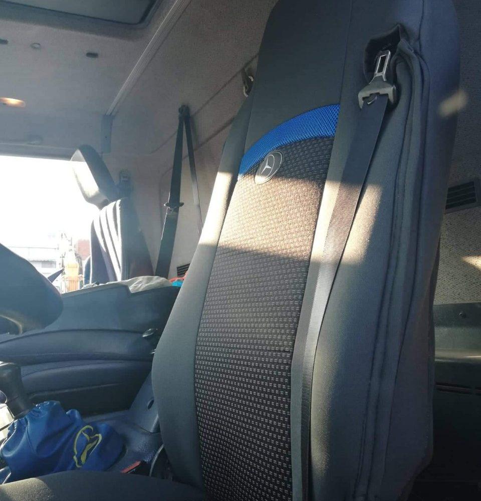 Καλύμματα φορτηγού για υπερηψωμένα καθίσματα με ζώνη Νο 85 με φάσα Νο 71